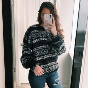 Vintage Chunky Cabin Sweater